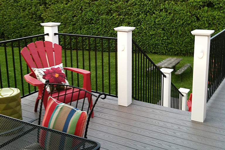 Most affordable PVC deck